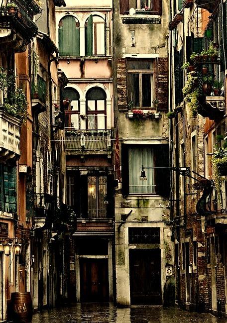 Rainy Day, Venice, Italy