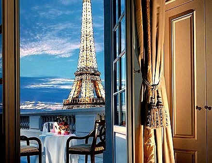 Room with a View, Paris, France