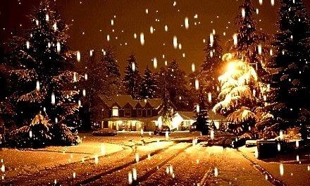 Snowy Night, Boulder, Colorado