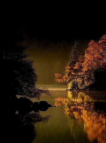 Misty, Loch Ard, Scotland