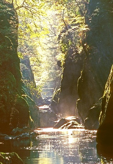 Sun Beams, Betwsy-Coed, Wales
