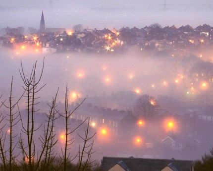 Foggy Morning, Halifax, Nova Scotia
