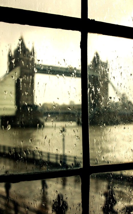 Rainy Day, The Tower Bridge, London